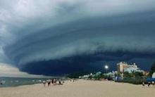 Đám mây kỳ lạ như trong phim