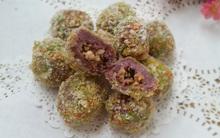 Bùi thơm hấp dẫn món bánh khoai môn nhân tôm thịt