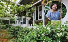 Sau mọi ánh hào quang của sân khấu, NSND Thanh Hoa sống bình yên bên nhà vườn rộng 1000m²
