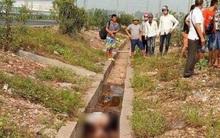 Bắc Giang: Phát hiện người phụ nữ chết dưới mương nước bên ven đường