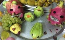 Cận kề Trung Thu, cư dân mạng thi nhau khoe mâm cỗ trái cây theo trường phái kinh dị