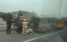 Tai nạn trên cao tốc Hà Nội - Lào Cai, 4 người nhập viện
