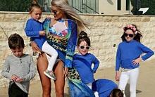 Đẹp quá cũng là cái tội: Mẹ 5 con bị nghi ngờ giả mang bầu vì có thân hình quá