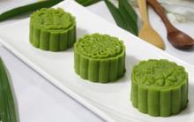 Thơm mát mềm mịn món bánh Trung thu vị lá dứa