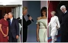 Nhìn cách nắm tay biết ngay mức độ hạnh phúc trong hôn nhân của 3 vị Đệ nhất phu nhân Mỹ
