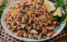 Học người Thái cách làm món thịt bằm chua ngọt đã ăn là không muốn dừng