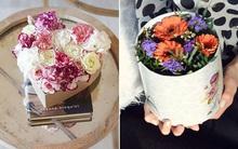 3 cách cắm hoa trong hộp quà xinh lung linh bạn cần