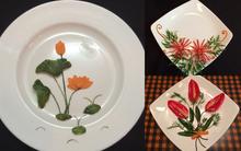5 cách trang trí đĩa ăn siêu đẹp theo chủ đề hoa lá