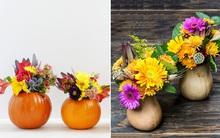 Gợi ý cách cắm hoa đơn giản mà độc đáo tới không ngờ cho ngày Halloween