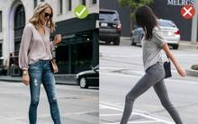 Đến quần jeans dáng cơ bản cũng có kiểu hợp xu hướng, kiểu không