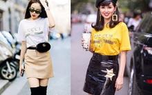 Đơn giản hết mức, nhưng áo phông của Gucci vẫn được các sao Việt và các fashionista thi nhau mặc