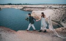 Câu chuyện tình yêu với đầy đủ nước mắt, nụ cười phía sau bộ ảnh cưới mật ngọt của cặp vợ chồng trẻ