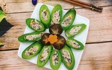 Thanh mát ngọt lịm món mướp Nhật nhồi thịt hấp