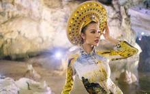 Ngỡ ngàng khi Đương kim Hoa hậu Hòa bình quốc tế mặc áo dài đẹp như người Việt Nam