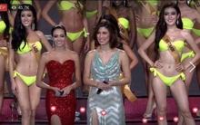 Huyền My khép lại cái kết đẹp cho phần trình diễn áo tắm Miss Grand International 2017