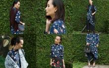 Bạn có sáng tạo thế này được không: Mặc 1 chiếc đầm hoa theo 8 cách khác nhau!