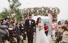"""Đám cưới kiểu """"999 đóa hồng"""" của cô dâu Việt suốt 8 năm yêu không nhận được bông hoa nào từ chú rể Mỹ"""