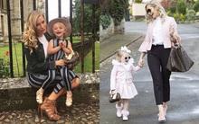 Mẹ trẻ chi bạo sắm đồ Louis Vuitton cho con gái diện gây tranh cãi