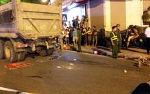 Hà Nội: Chồng ôm thi thể vợ gào khóc trong đêm sau vụ tai nạn