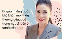 NSƯT Kim Xuân: Đi gần hết cuộc đời, vẫn thấy ấm lòng vì có chồng con bên cạnh