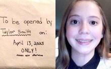 Dọn đồ của con gái 12 tuổi đột ngột qua đời, bố mẹ lặng người đọc thư con gửi chính mình ở tuổi 22