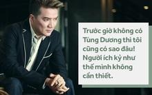 Đàm Vĩnh Hưng thẳng thắn nói về Tùng Dương: