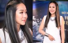 Tham tóc phẩy line, lại thêm loạt phụ kiện chẳng liên quan đã khiến cho Hoa hậu Ngô Phương Lan lọt top mặc sến