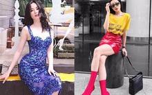 Street style tuần này: Angela Phương Trinh diện váy ôm