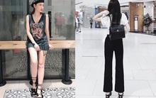 Thu Thủy khoe street style trẻ trung, Kỳ Duyên khác lạ với đôi chân nhìn như dài cả mét