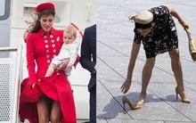 Ngàn lẻ một khoảnh khắc khốn khổ vì váy áo của các nhân vật hoàng gia