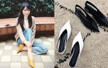 Đâu cần phải quá cầu kỳ hay sang chảnh, giày V-line đơn giản lại là xu hướng khiến các nàng không thể làm ngơ