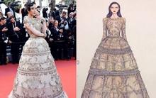 Chiếc đầm cuối cùng của Lý Nhã Kỳ tại Cannes: