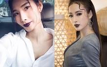 Son môi, đã không đậm thì thôi, một khi đã đậm là phải thâm xì như các người đẹp Việt mới nổi