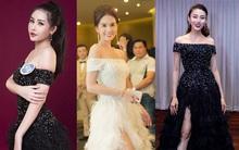 Vừa ồn ào chuyện dao kéo, Hoa hậu Đại dương lại đụng hàng váy áo với loạt người đẹp