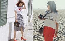 Street style: không hẹn mà gặp, các quý cô châu Á đều đồng loạt chuyển style nữ tính bất ngờ