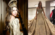 Chẳng ai như tiểu thư nước Nga, chi gần 230 tỷ đồng để mua váy cưới