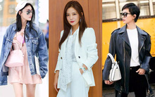 Cứ sang thu là 5 mẫu áo khoác quen thuộc này lại được loạt người đẹp Hoa ngữ lăng xê nhiệt tình