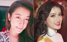 Giống bao cô gái khác, Huyền My trước và sau khi trang điểm khác lạ đến không ngờ