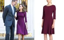 Đẳng cấp như nữ hoàng Tây Ban Nha cũng diện váy được sale chỉ còn nửa giá
