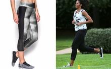 Ai thích diện hàng hiệu đắt tiền chứ bà Michelle Obama chỉ trung thành quần legging giá bình dân thôi!