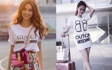 Những chiếc áo phông trị giá hơn chục triệu đồng của người đẹp Việt