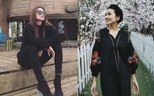 Hà Hồ lạnh lùng với cả cây đen đối lập Thanh Hằng nữ tính, ngọt ngào trong street style tuần này