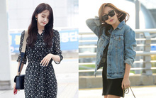 Top các idol Hàn cứ ra sân bay là bao người ngóng xem