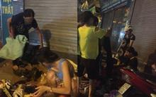 Hà Nội: Người phụ nữ đột nhập shop quần áo