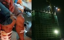 Lời kể của công nhân thoát chết trong vụ sập giàn giáo tại công trình chung cư đang xây