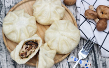Hóa ra làm bánh bao gà nấm đang hot chỉ đơn giản thế này thôi!