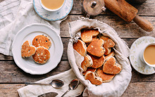 Không cần lò nướng vẫn làm được bánh quy thơm giòn