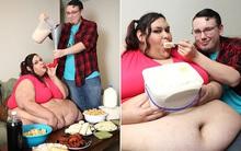 Không thể tin nổi đây là thân hình người phụ nữ từng ăn bằng phễu để trở thành người béo nhất thế giới