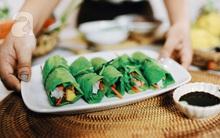 Food Blogger Hương Chóe bày cách làm món nhậu bò cuốn lá cải kiểu Eat Clean vừa không tăng cân, lại ngon lạ miệng