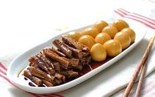 Học người Hàn Quốc làm món bò kho trứng cút tuyệt ngon